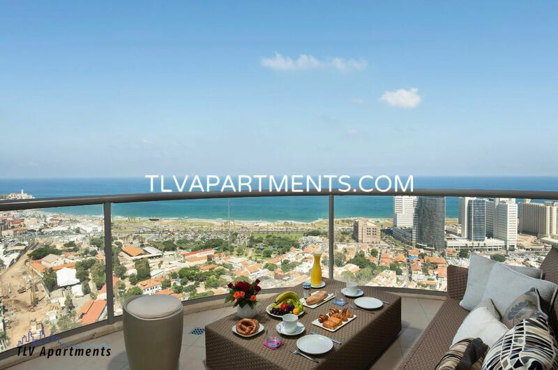 furnished apartment With panoramic sea view