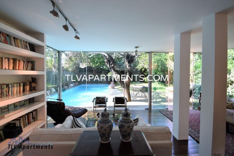 Modern lighted spacious villa