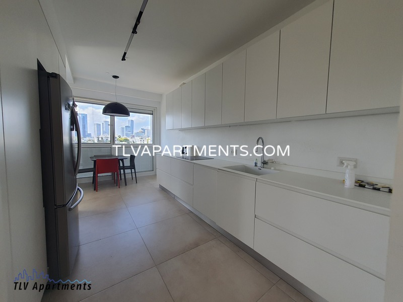 Renovated apartment in a luxury building
