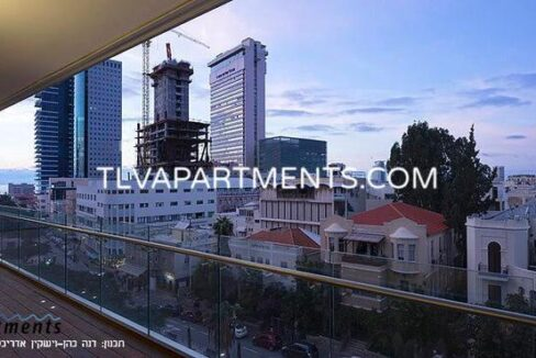 Spacious apartment in a prestigious tower